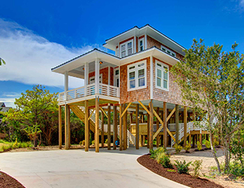Midgett Realty Construction on Hatteras Island