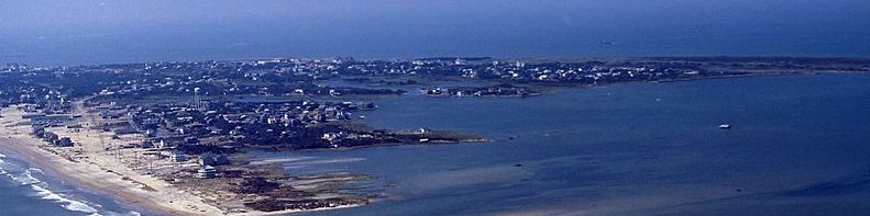 Ariel View of Hatteras