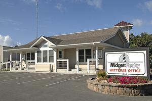 Midgett Realty office in Hatteras, NC