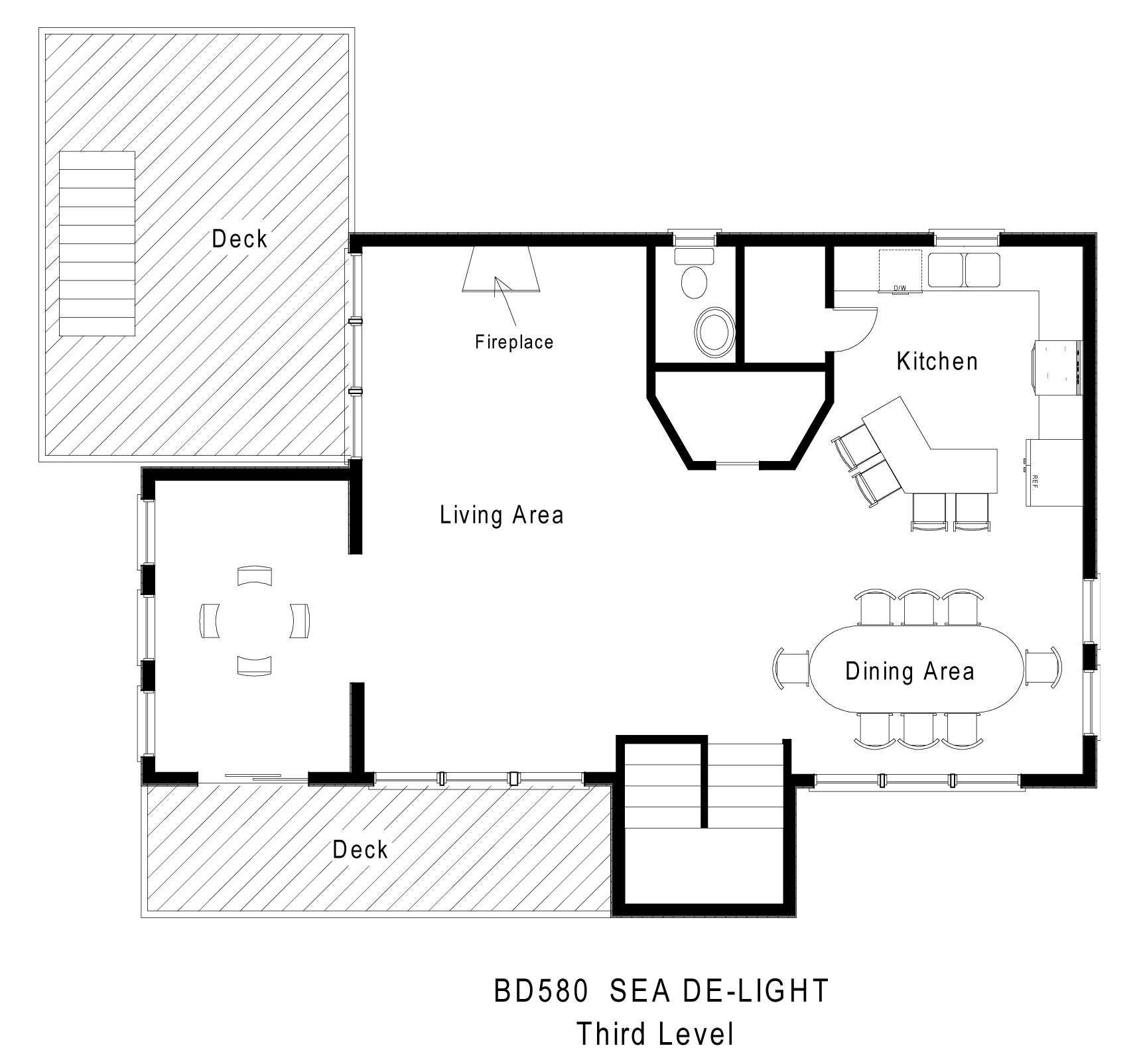 Sea de light hatteras rental midget realty for Meyer may house floor plan
