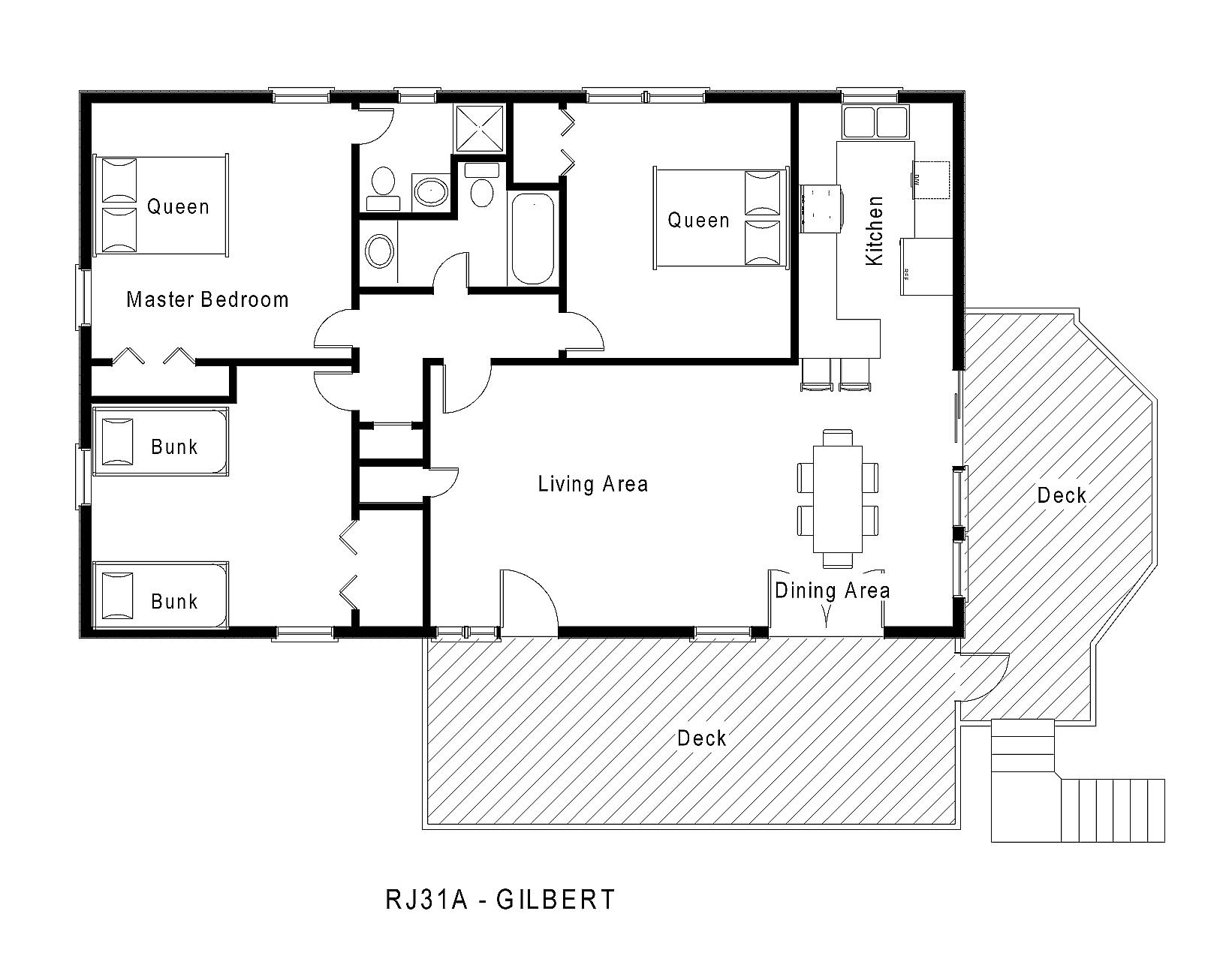 rj31a gilbert floorplan level 1jpg
