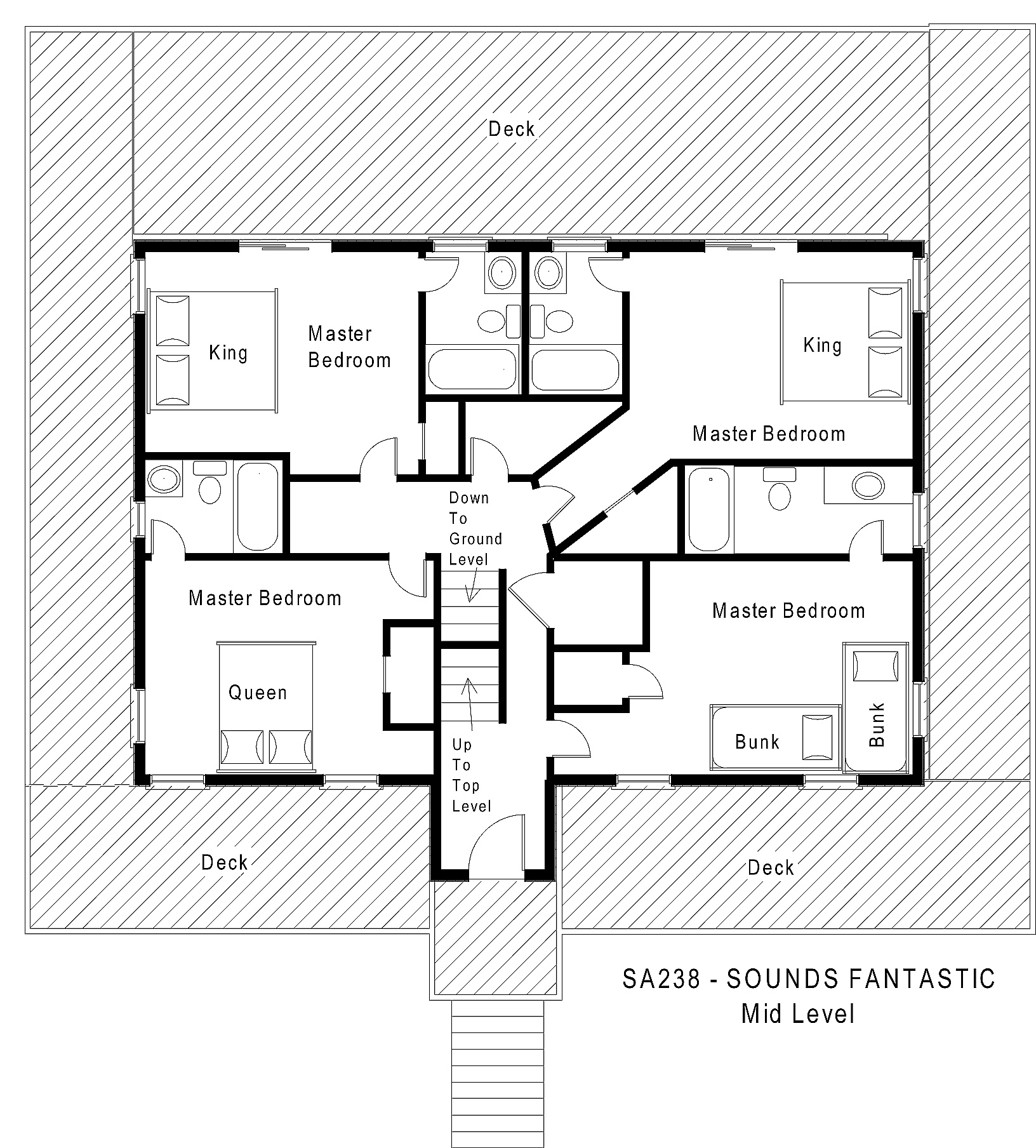 SA238 Sounds Fantastic - Floorplan Level 2