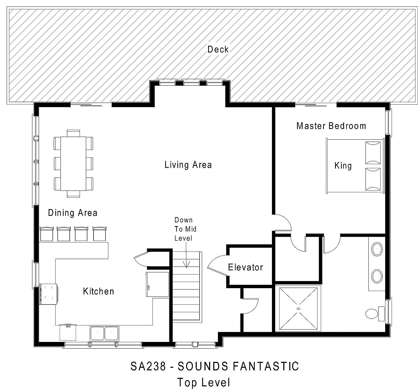 SA238 Sounds Fantastic - Floorplan Level 3