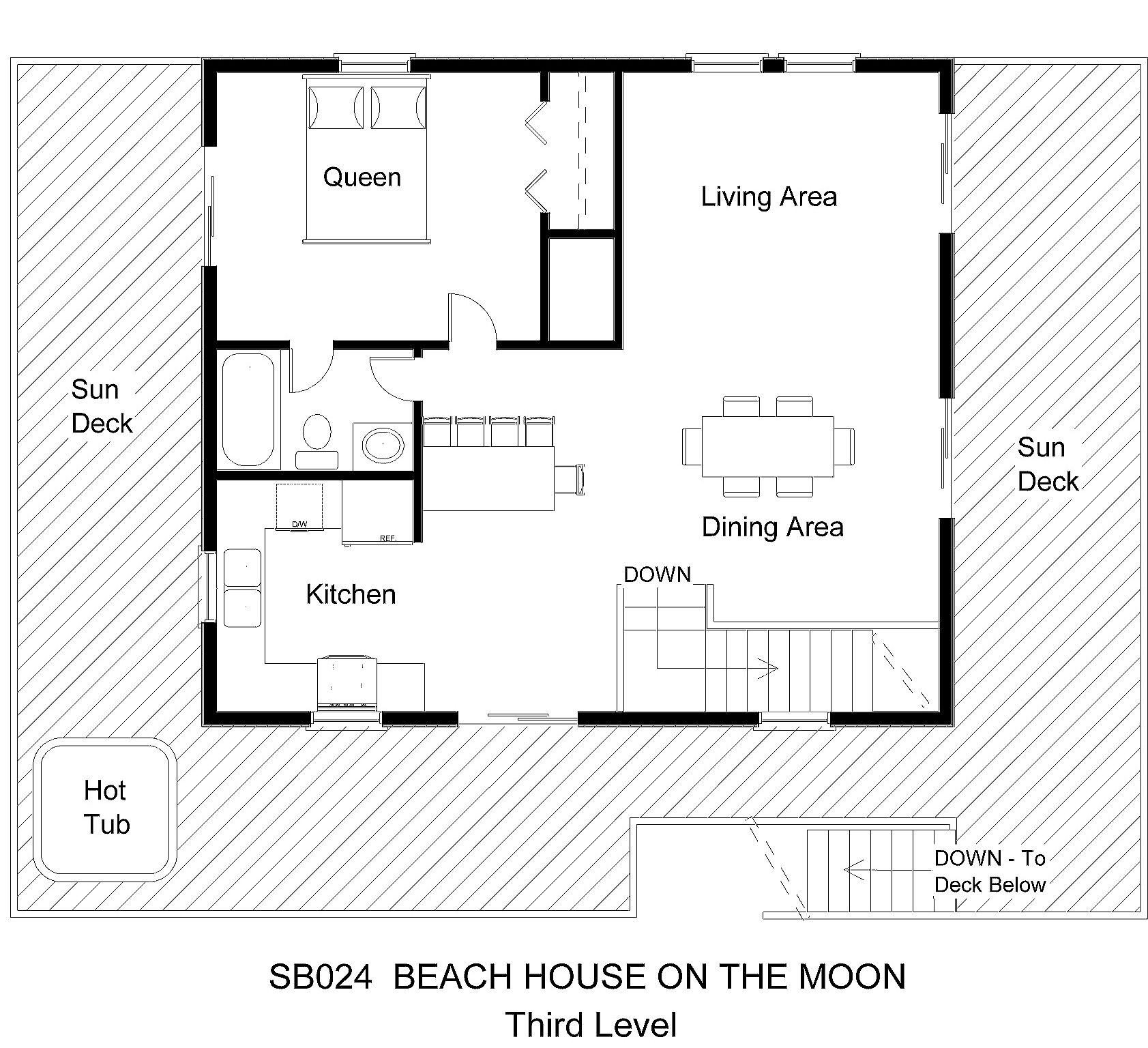 Beach house floor plans modern house for Modern beach house floor plans
