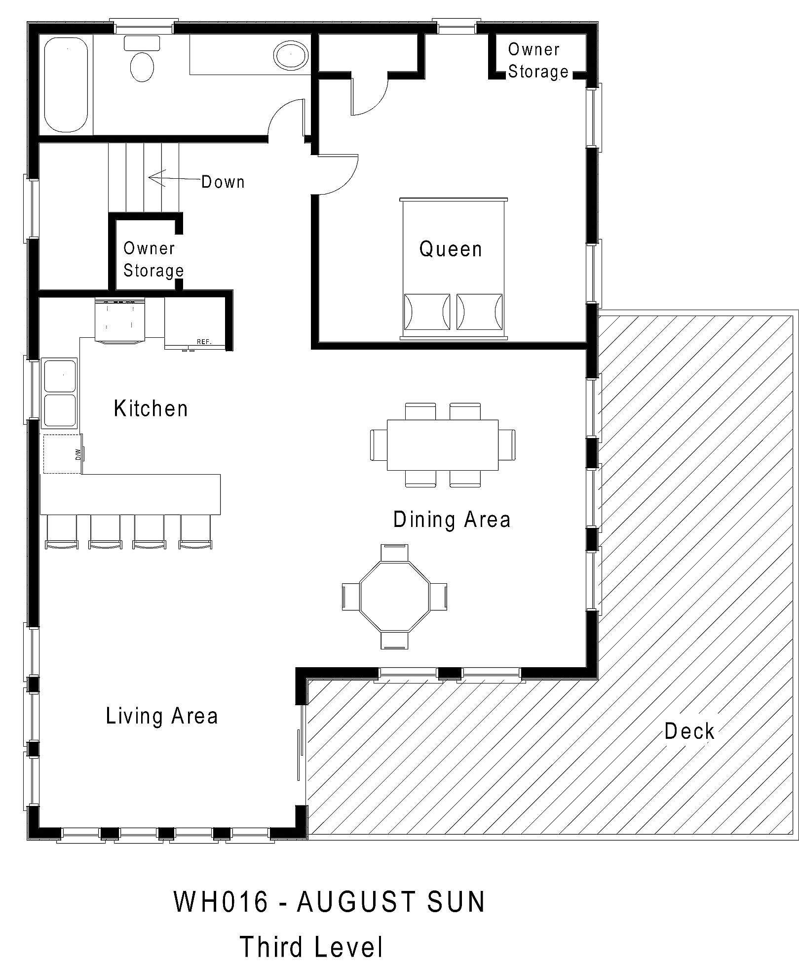 WH016 August Sun - Floorplan Level 3