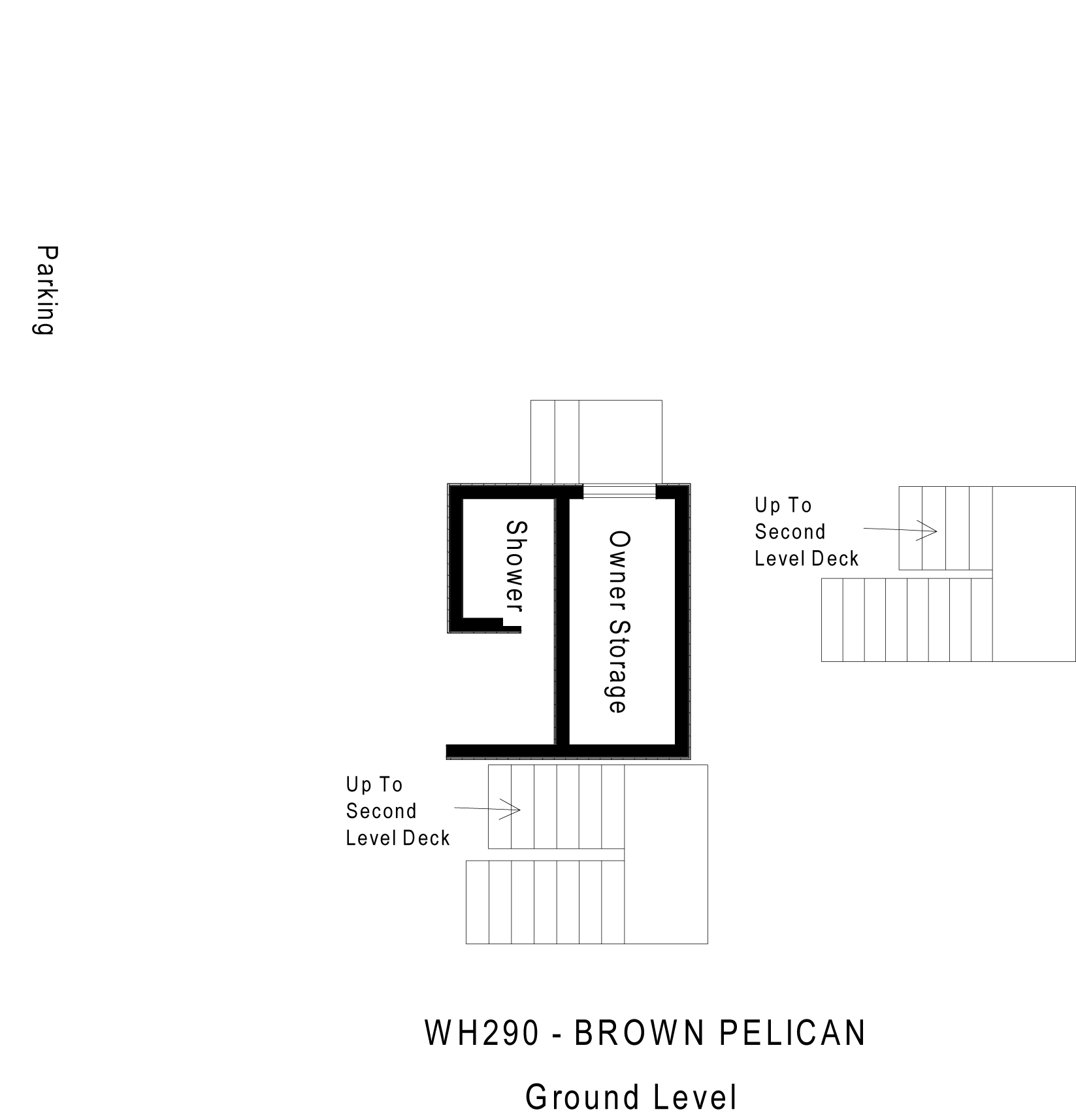 WH029 Brown Pelican - Floorplan Level 1