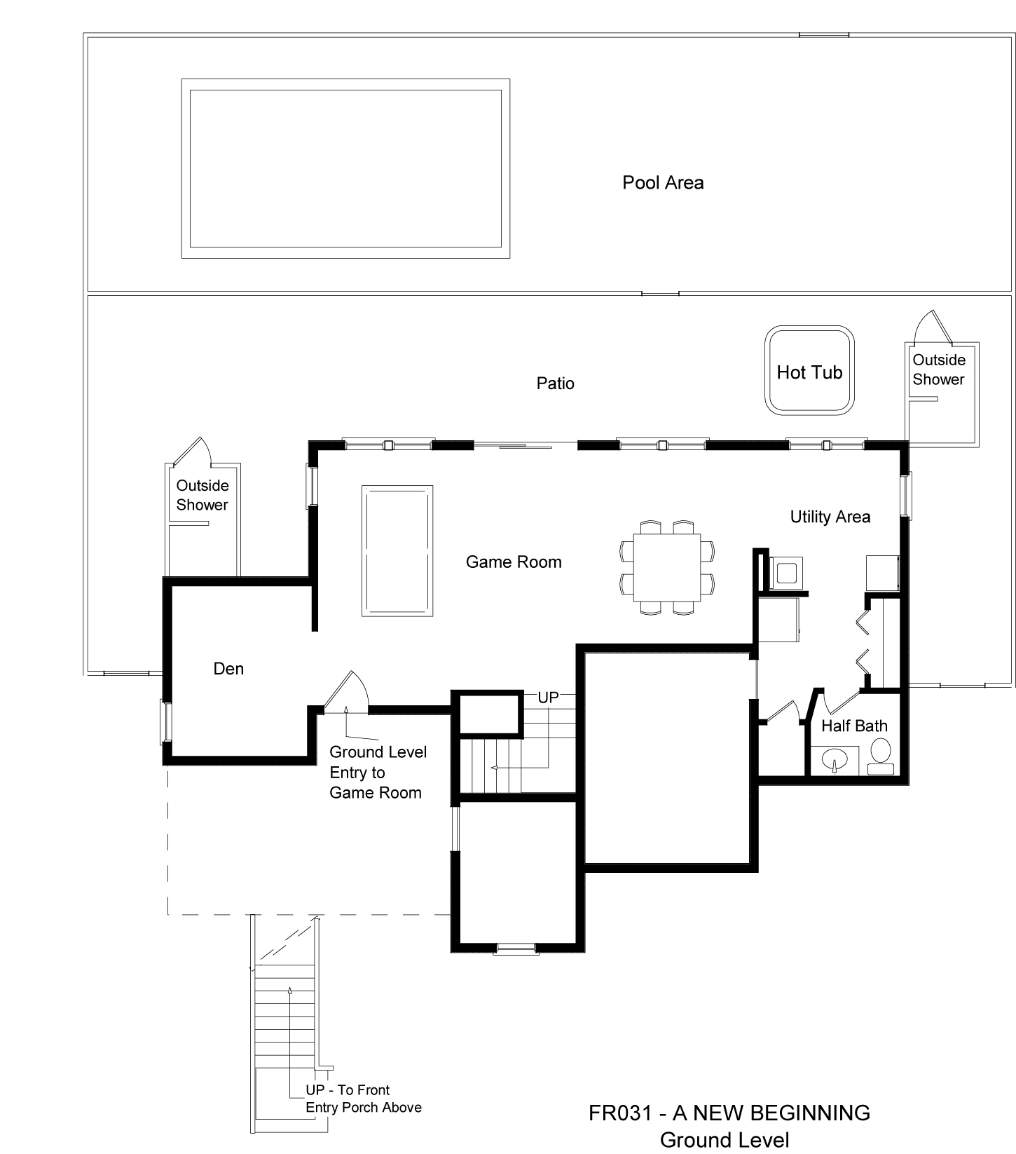 FR031 A New Beginning - Floorplan Level 1