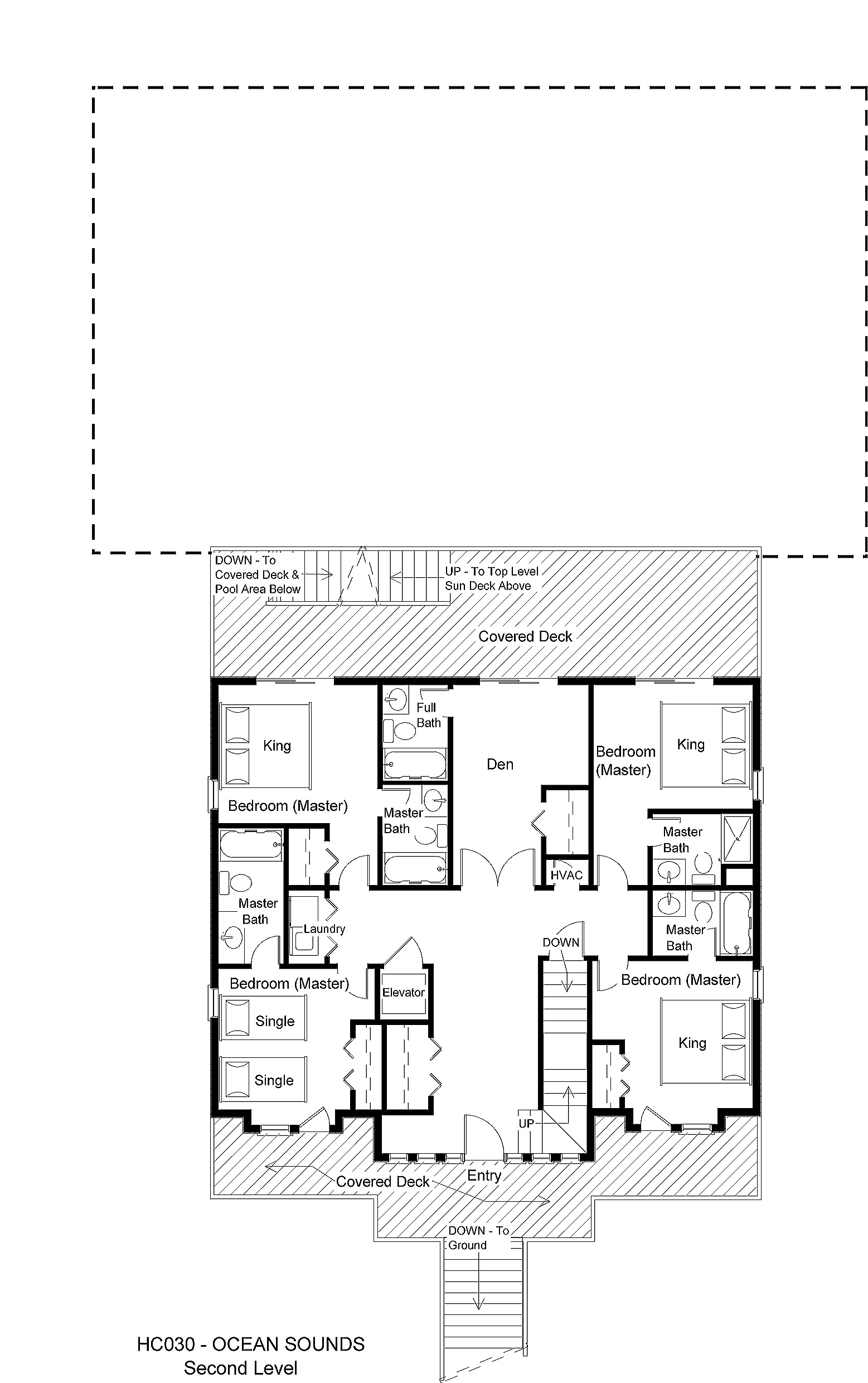 HC030 Ocean Sounds - Floorplan Level 2