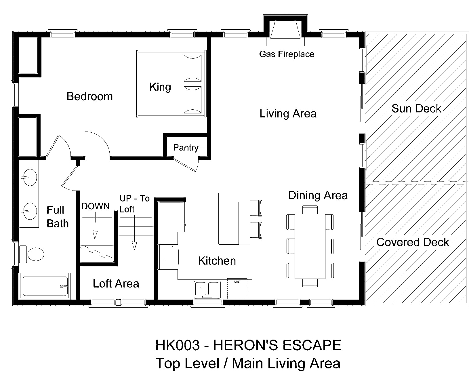 HK003 Heron's Escape - Floorplan Level 3