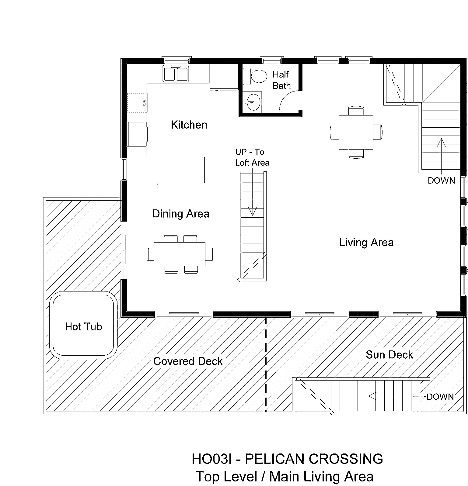 HO03I Pelican Crossing - Floorplan Level 2