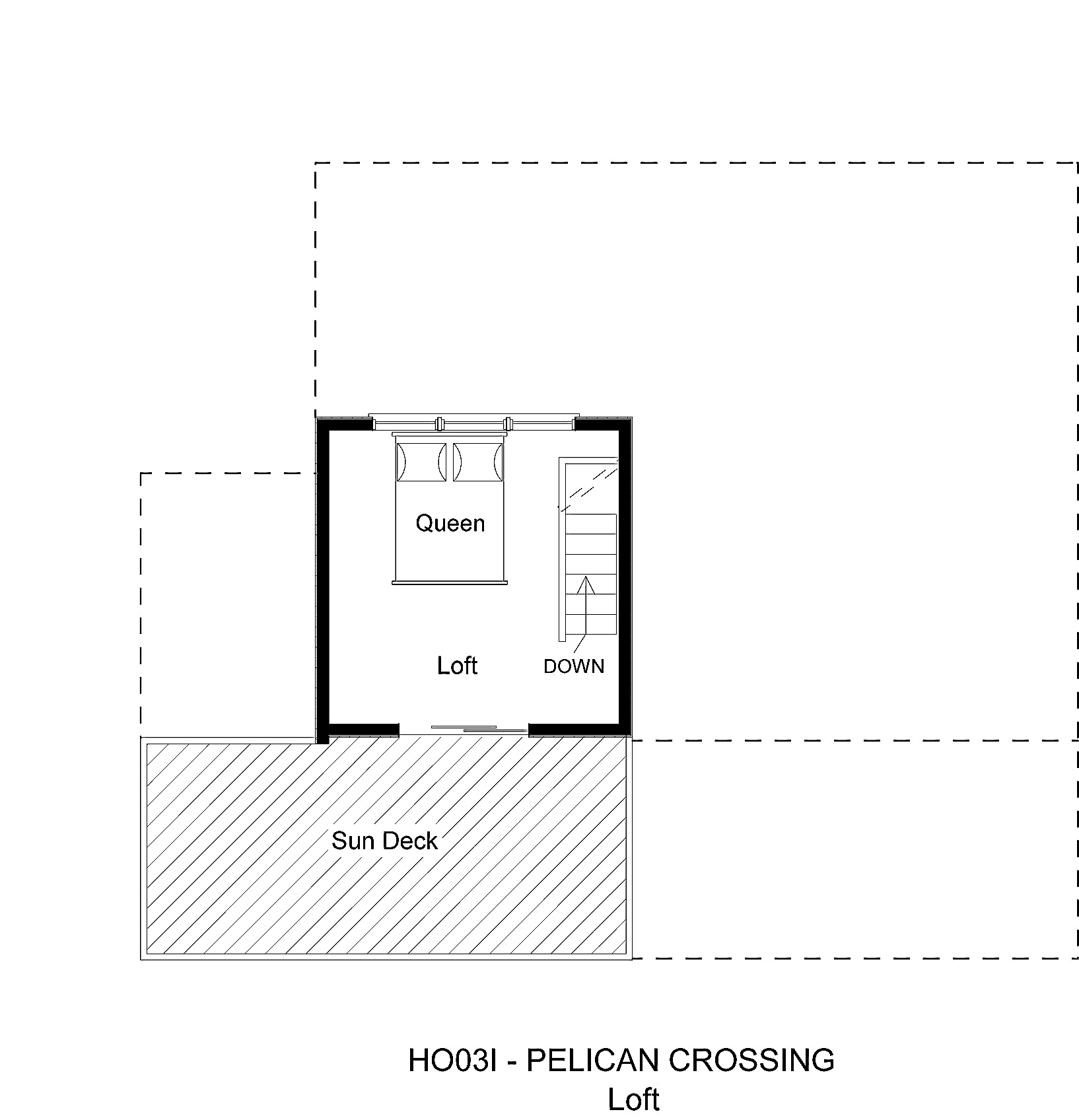 HO03I Pelican Crossing - Floorplan Level 3