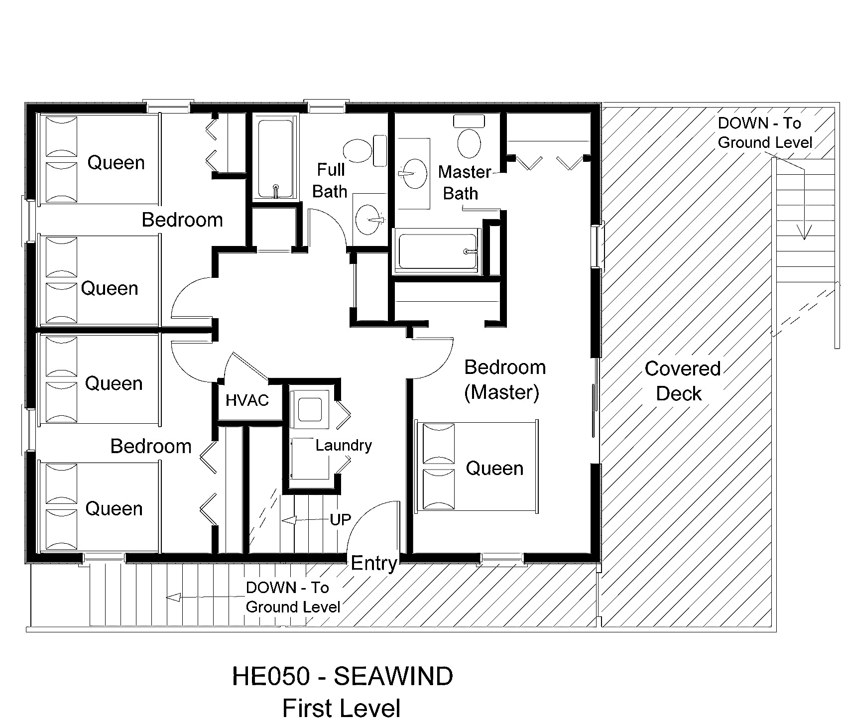 HE050 Seawind - Floorplan Level 1