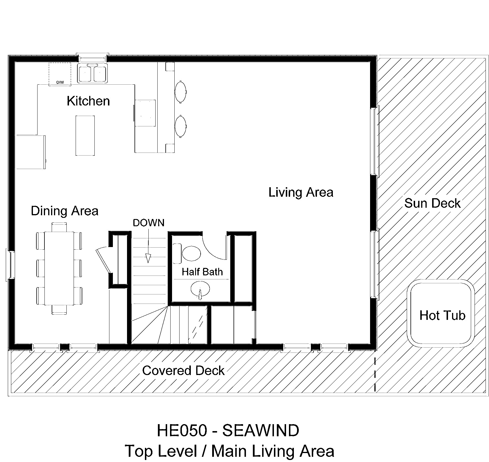 HE050 Seawind - Floorplan Level 2