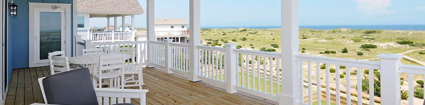 View of Hatteras from Midgett Realty Property Deck