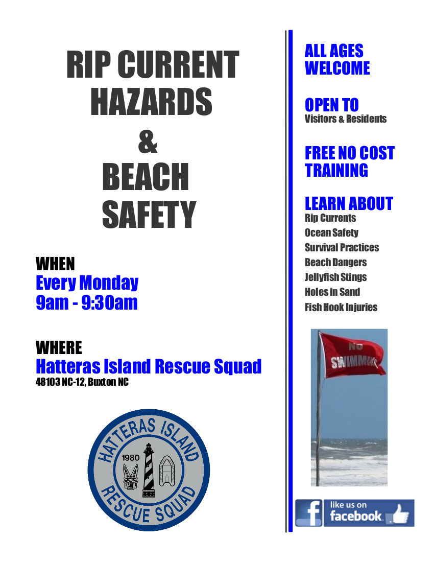 RIP Current & Beach Safety Training Course