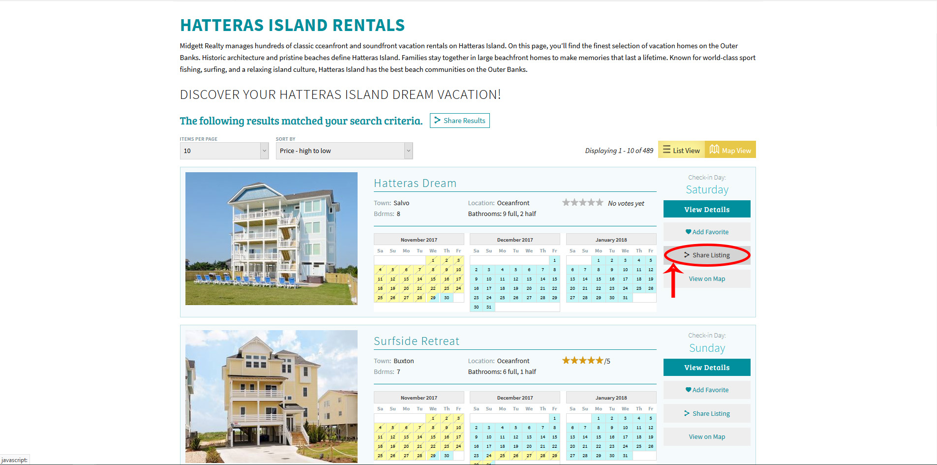 Share the perfect Hatteras Island beach vacation home