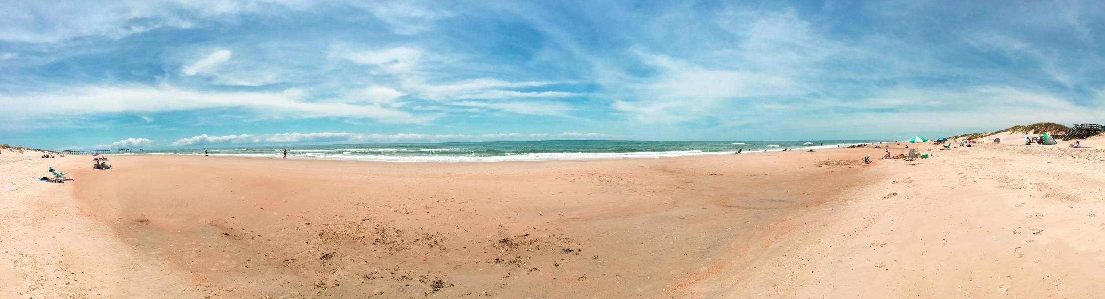Frisco Beach On Hatteras Island