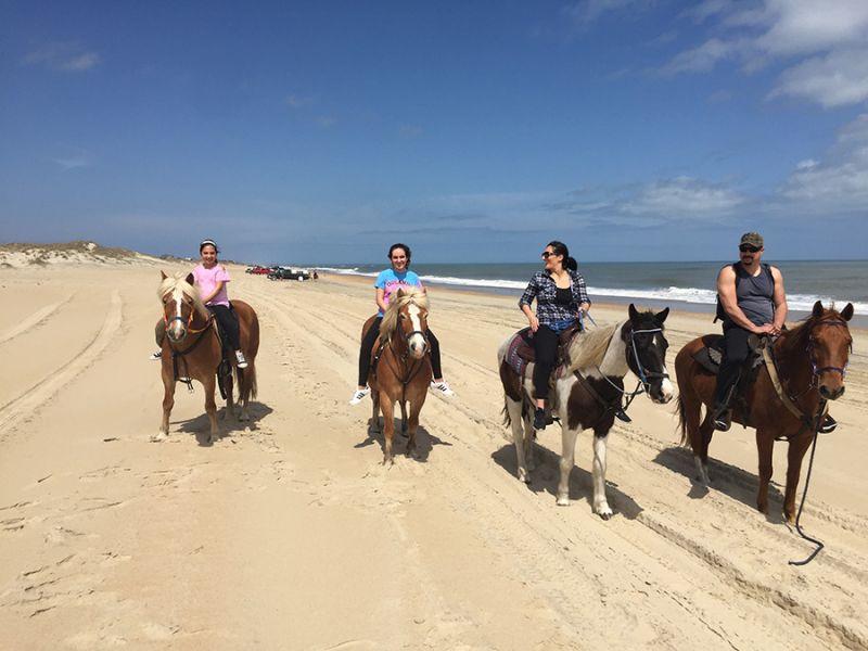 Lighthouse Horse Rides