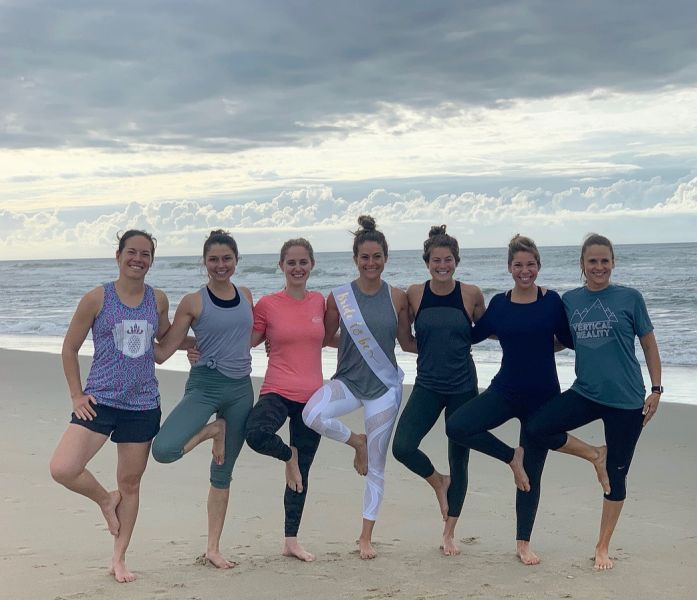 Private Bridal Party Session with Hatteras Yoga