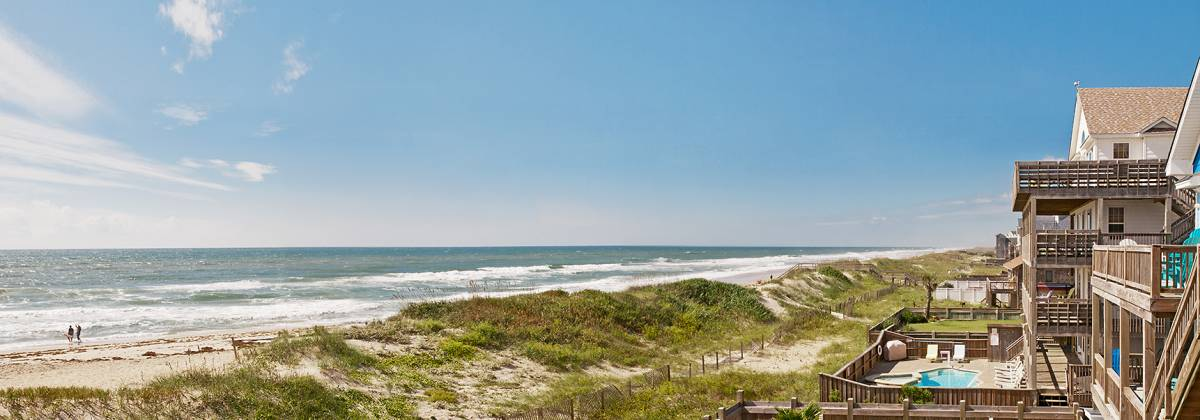 Oceanfront vacation rentals on Hatteras Island