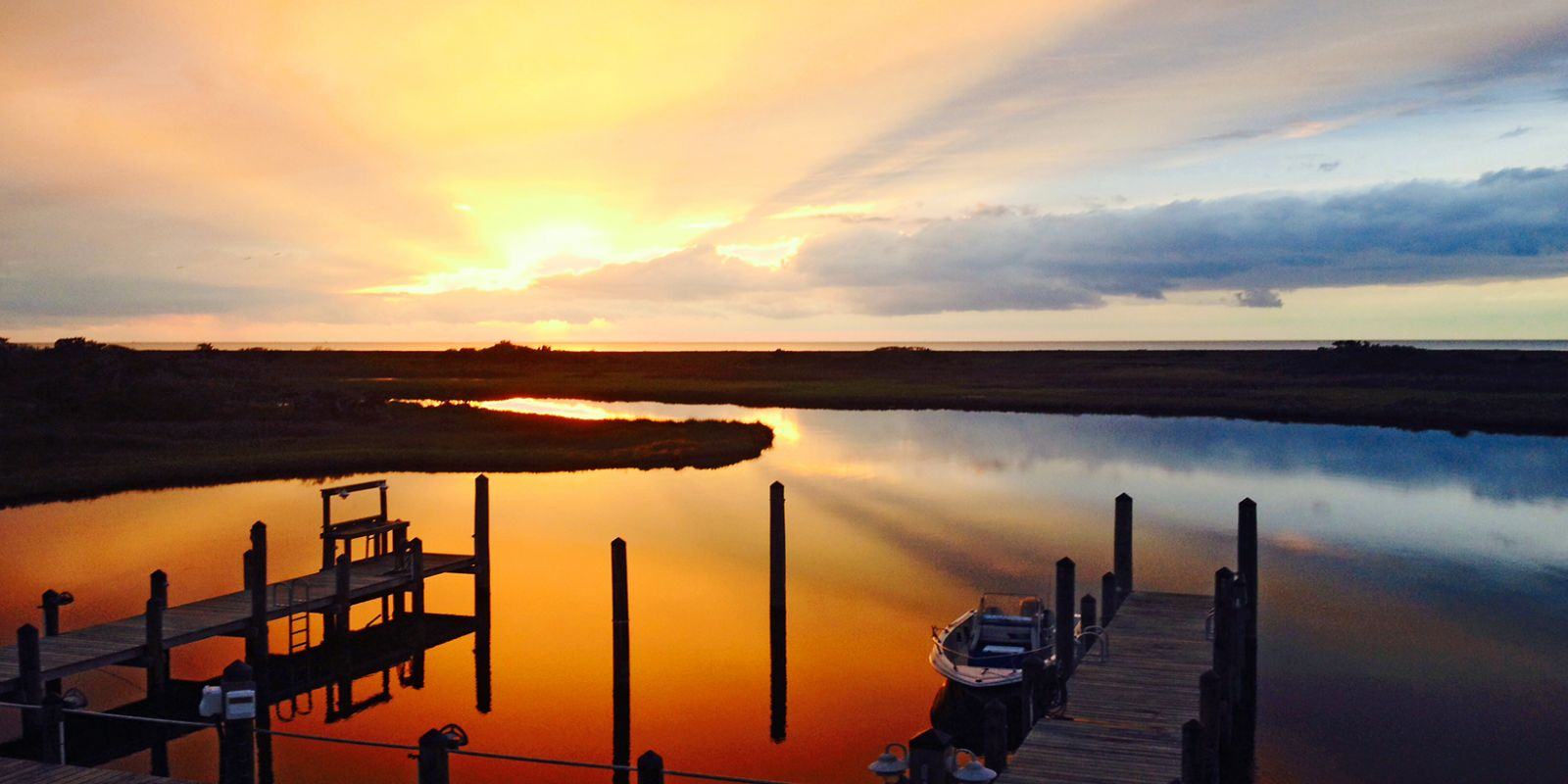 Noah's Folly Sunset in Hatteras, NC