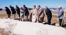 Groundbreaking Ceremony for the Herbert C. Bonner Bridge. Photo Credit: Jordan Hennessy