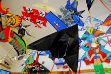 Kites Collection at Kitty Hawk Kites at Hatteras Landing