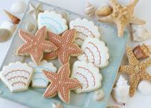 Coastal Christmas Cookies by Beach Bliss Living
