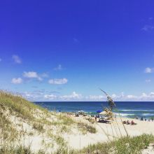 Beach Day on Hatteras Island