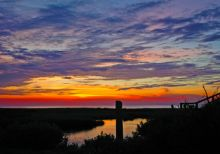 Scenery on Hatteras Island