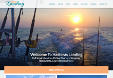 Hatteras Landing Launches New Responsive Site