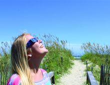 Solar Eclipse on Hatteras Island