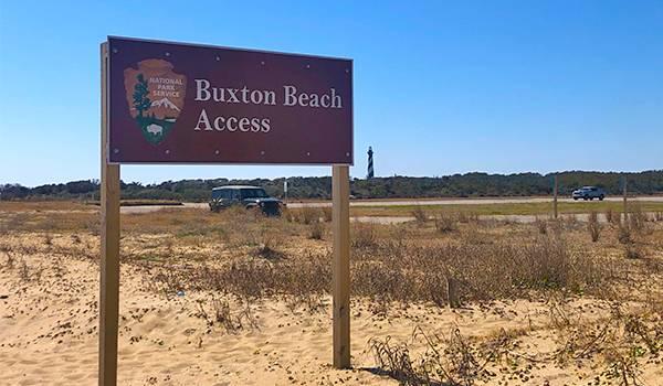 Buxton Beach Access