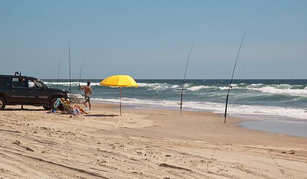 Stay oceanside to be close to all that Hatteras has to offer