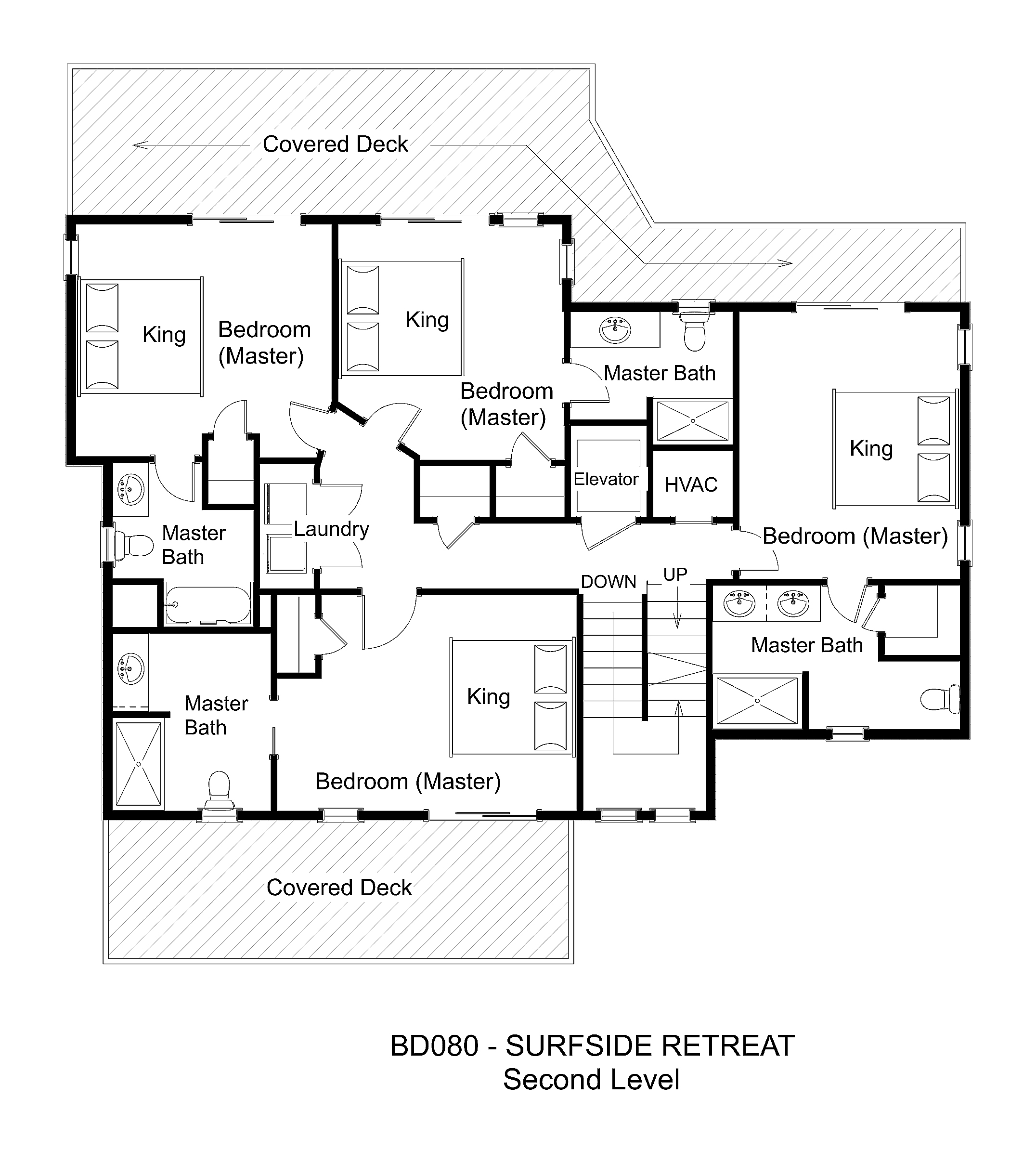 Oceanfront vacation rental surfside retreat for Meyer may house floor plan